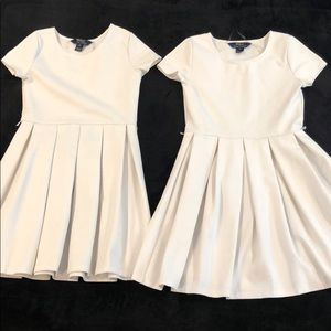 White Formal Dress (separately/together) $20each
